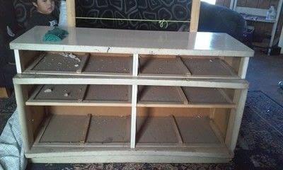 How to make a home / garden project. Dresser Makeover - Step 1