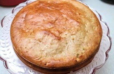 How to bake an apple cake. Sweet November Cake - Step 6