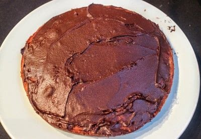 How to bake a cake. Day Of The Dead Cake - Step 5