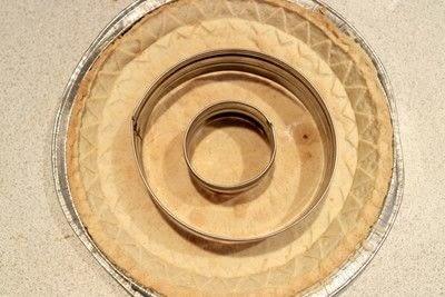 How to bake a pumpkin pie. Candy Corn Pumpkin Pie - Step 5