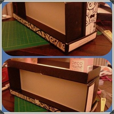 How to make a storage unit. Decoupage Carousel Display for Nail Varnishes - Step 2
