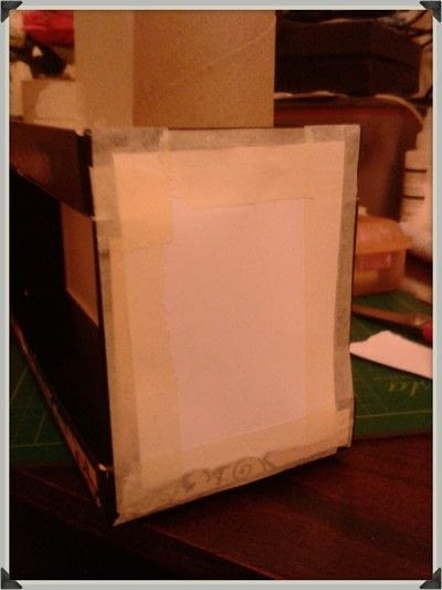 How to make a storage unit. Decoupage Carousel Display for Nail Varnishes - Step 6