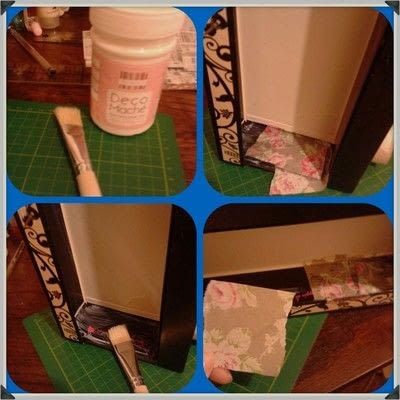 How to make a storage unit. Decoupage Carousel Display for Nail Varnishes - Step 7