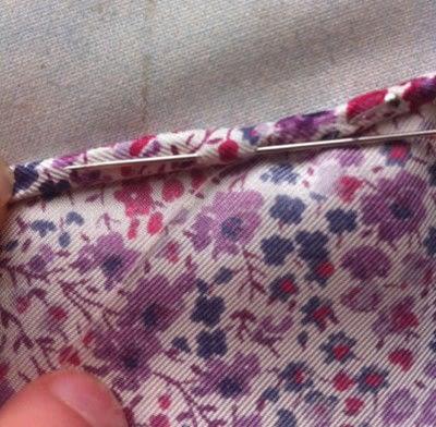How to make a silk scarf. The Versatile Silk Neckerchief Scarf Tutorial - Step 4