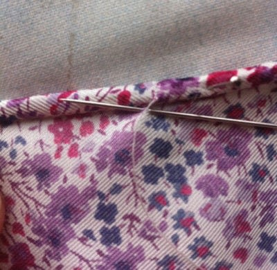 How to make a silk scarf. The Versatile Silk Neckerchief Scarf Tutorial - Step 5