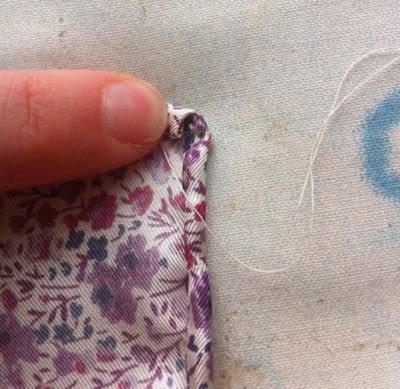 How to make a silk scarf. The Versatile Silk Neckerchief Scarf Tutorial - Step 6