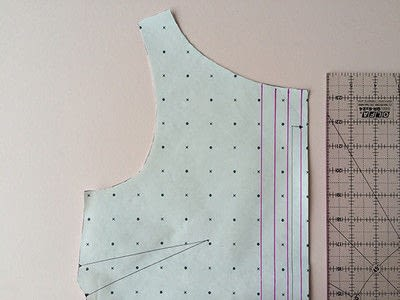 How to sew . How To Add Pin Tucks To Your Garments - Step 2