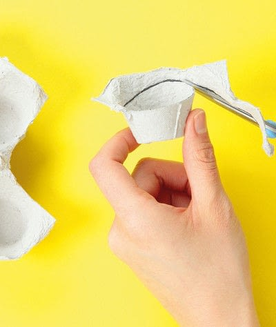 How to make a paper roll model. Ellie The Elephant - Step 1