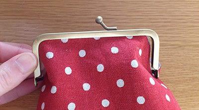 How to make a snap purse. Snap Frame Purse Tutorial  - Step 9