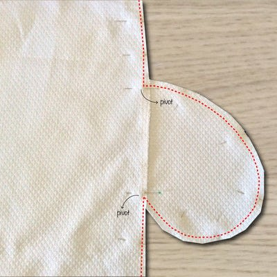 How to sew an inseam pocket. How To Add Inseam Pockets - Step 5