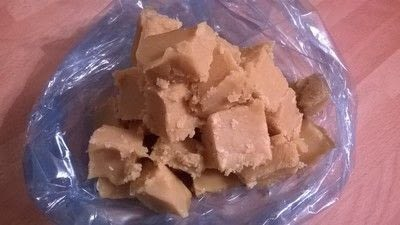 How to make fudge. Clotted Cream Fudge - Step 8