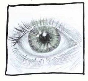 How to draw an eye drawing. How To Draw Eyes - Step 3