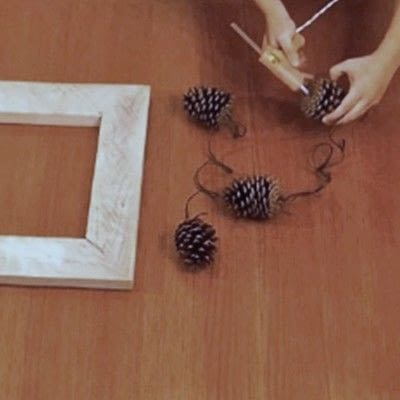 How to make a recycled photo frame. 1 Frame, 3 Ways - Step 1