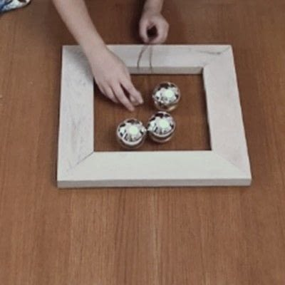 How to make a recycled photo frame. 1 Frame, 3 Ways - Step 6