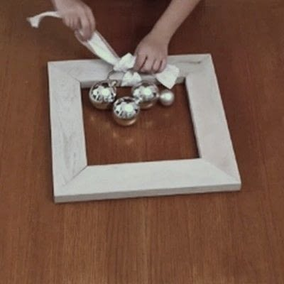 How to make a recycled photo frame. 1 Frame, 3 Ways - Step 7