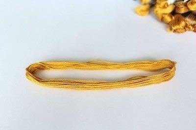 How to make a tassels. Diy Mini Tassel Fringe - Step 2