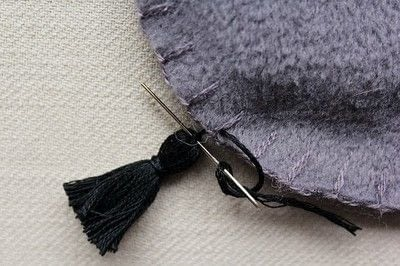 How to make a tassels. Diy Mini Tassel Fringe - Step 18