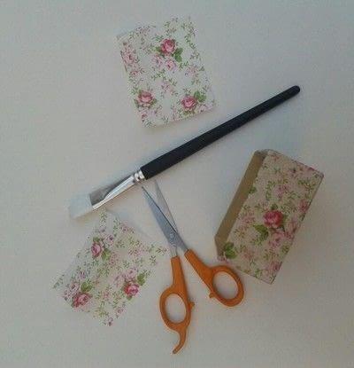 How to make a decoupage box. Deco Mache Gift Box - Step 4