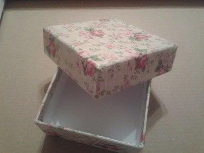 How to make a decoupage box. Deco Mache Gift Box - Step 6