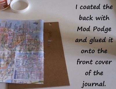 How to decorate an altered journal. Diy Art Journal With Canvas Corp Brands - Step 5