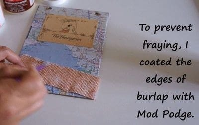 How to decorate an altered journal. Diy Art Journal With Canvas Corp Brands - Step 8