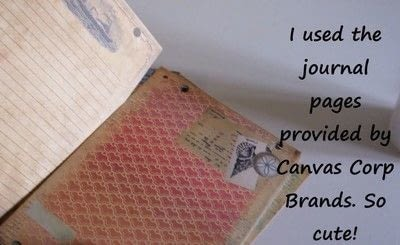 How to decorate an altered journal. Diy Art Journal With Canvas Corp Brands - Step 23