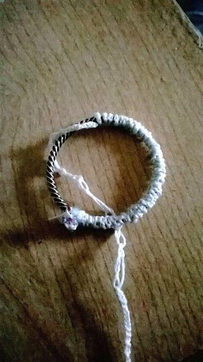 How to stitch . Swingcatcher - Step 1