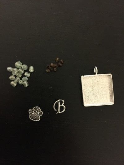 How to make a pet tag. Crystal Clay Pet Bling - Step 1