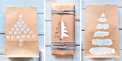 How to make gift wrap. 9 Ways To Beautifully Wrap Your Christmas Gifts With Craft Paper - Step 1