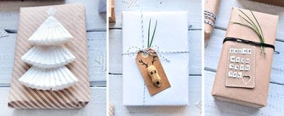 How to make gift wrap. 9 Ways To Beautifully Wrap Your Christmas Gifts With Craft Paper - Step 4