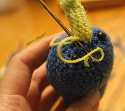 How to make a narwhal plushie. Amigurumi Narwhal Pattern - Step 4