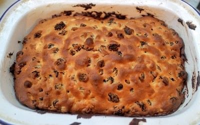 How to bake a fruit loaf. Percy's Tea Loaf - Step 7
