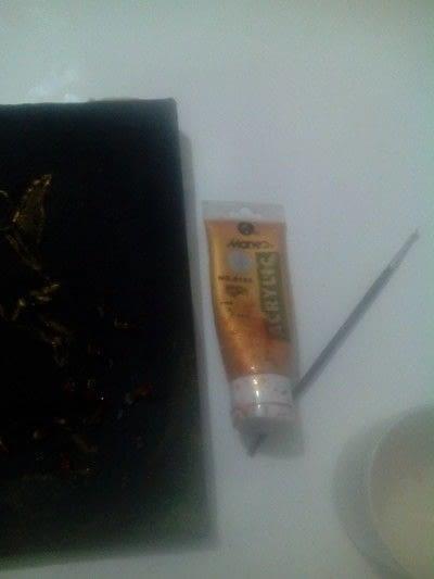 How to make a wall light. Canvas Cut Lights - Step 5