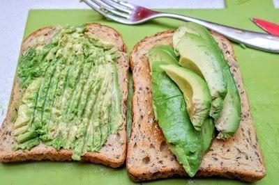 How to cook an avocado toast sandwich. Avocado Toast - Step 3