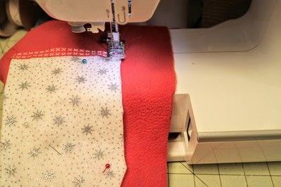 How to make a Christmas stocking. Christmas Stockings - Step 5