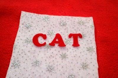 How to make a Christmas stocking. Christmas Stockings - Step 10