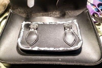 How to make a satchel. Tweed Pocket Satchel - Step 12