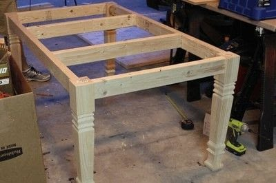 How to make a table. Farmhouse Table - Step 2