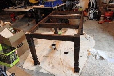 How to make a table. Farmhouse Table - Step 3