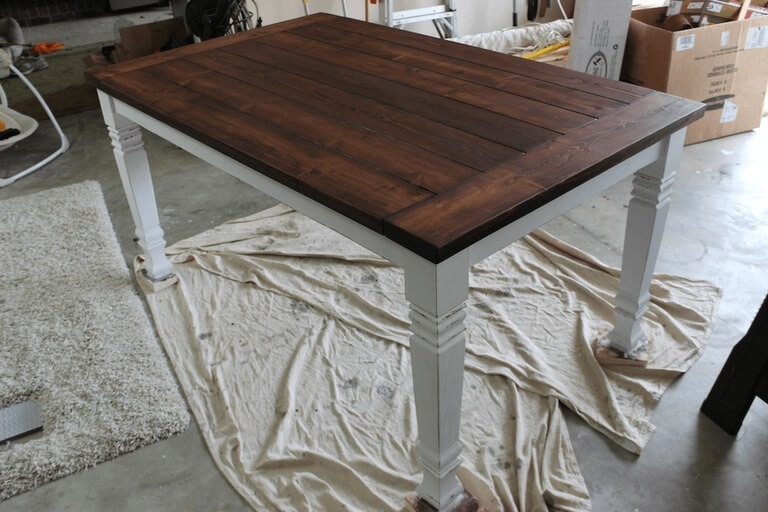 Farmhouse Table · How To Make A Table · Home DIY on Cut Out Keep