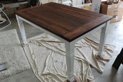 How to make a table. Farmhouse Table - Step 6