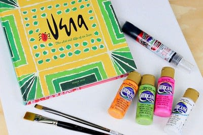 How to create a piece of abstract or patterned art. Let's Make Art! - Step 2