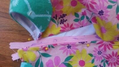 How to sew a baby top. Extending A Dress Bodice To Make A Shirt - Step 4