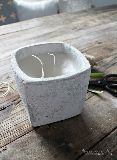 How to make a candle. Re Melted Candle - Step 5