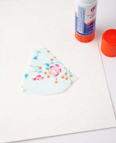 How to make a stitched card. Free Motion Stitched Whimsical Greeting Cards : : Tutorial - Step 1