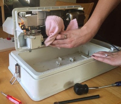 How to sew . How To Service Your Sewing Machine Yourself - Step 32