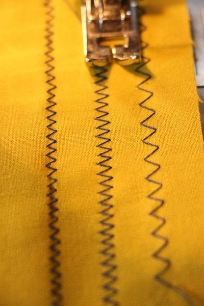 How to sew . Sewcabulary: Five Different Machine Stitches And When To Use Them - Step 6
