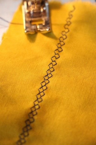 How to sew . Sewcabulary: Five Different Machine Stitches And When To Use Them - Step 11