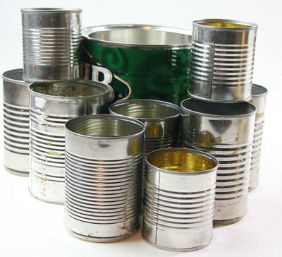 How to make a pot. Tin Can Caddy Tutorial - Step 1