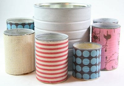 How to make a pot. Tin Can Caddy Tutorial - Step 3